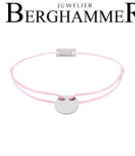 Filo Armband Textil Rosa 750 Gold weißgold 21200403
