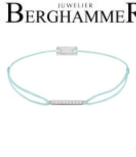 Filo Armband Textil Mint Line 925 Silber rhodiniert 21204503