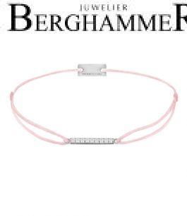 Filo Armband Textil Fuchsia Line 925 Silber rhodiniert 21204513