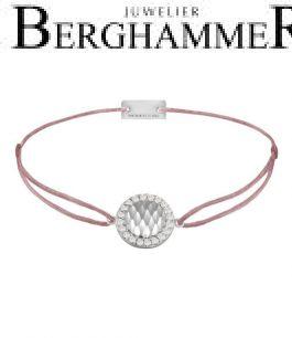 Filo Armband Textil Camel Shine 925 Silber rhodiniert 21204560