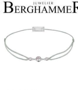 Filo Armband Textil Hellgrau Fashion 925 Silber rhodiniert 21204696