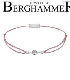 Filo Armband Textil Camel Fashion 925 Silber rhodiniert 21204706