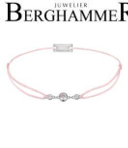 Filo Armband Textil Fuchsia Fashion 925 Silber rhodiniert 21204707