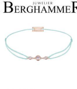 Filo Armband Textil Mint Fashion 925 Silber roségold vergoldet 21204721
