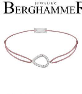 Filo Armband Textil Camel Fashion 925 Silber rhodiniert 21204754
