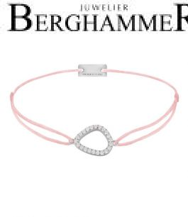 Filo Armband Textil Fuchsia Fashion 925 Silber rhodiniert 21204755