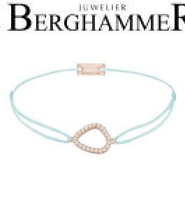 Filo Armband Textil Mint Fashion 925 Silber roségold vergoldet 21204769