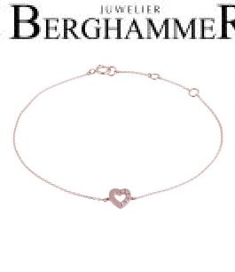 Fiore Armband 14kt Roségold 21300135