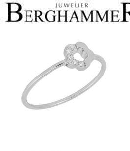 Fiore Ring 14kt Weißgold 21300160