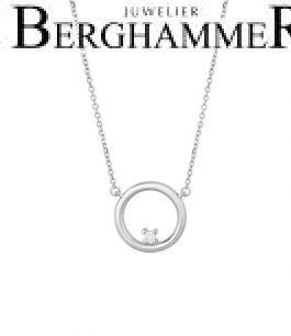 Bellissima Halskette 18kt Weißgold 21300229