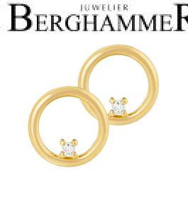 Bellissima Ohrstecker 18kt Gelbgold 21300233