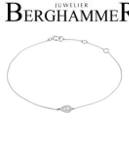 Bellissima Armband 18kt Weißgold 21300238