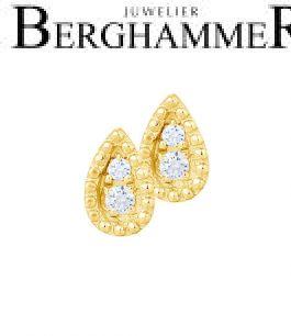 Bellissima Ohrstecker 18kt Gelbgold 21300245