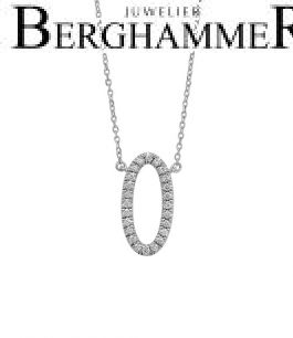 Bellissima Halskette 18kt Weißgold 21300270