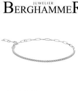 Unico Armband Zirkonia weiß 925 Silber rhodiniert 21700023
