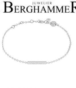 LaViida Armband Line 925 Silber rhodiniert BLU634RH 40500075