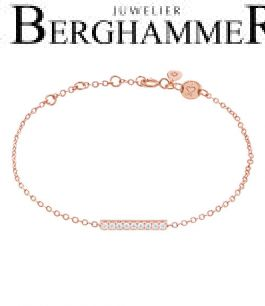 LaViida Armband Line 925 Silber roségold vergoldet BLU634RG 40500076