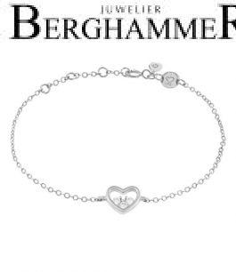 LaViida Armband Herz 925 Silber rhodiniert BLU635RH 40500081