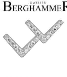 LaViida Ohrschmuck Light 925 Silber rhodiniert ELU639RH 40500095
