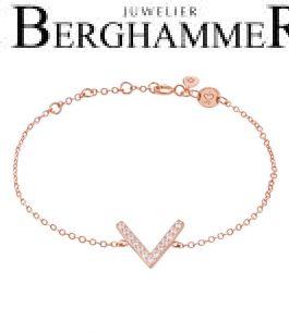 LaViida Armband Light 925 Silber roségold vergoldet BLU639RG 40500104
