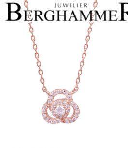 LaViida Halskette Flower 925 Silber roségold vergoldet NLU638RG 40500112