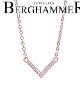 LaViida Halskette Light 925 Silber roségold vergoldet NLU639RG 40500114