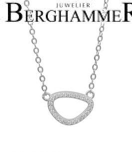 LaViida Halskette Fashion 925 Silber rhodiniert NLU641RH 40500117