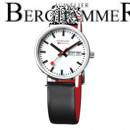 Mondaine Official Swiss Railways Classic DayDate A667.30314.11SBB