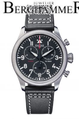 Davosa Pilot Aviator Fly Back Chronograph Quartz 42mm 162.499.55