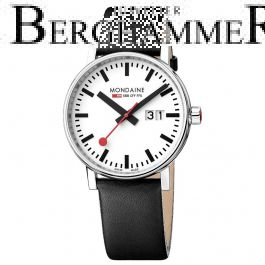 Mondaine Official Swiss Railways evo2 Big Date MSE.40210.LB