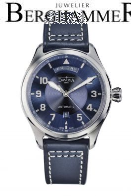 Davosa Pilot Newton Pilot Day-Date Automatic 44mm 161.585.45