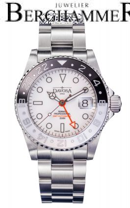 Davosa Diving Ternos Professional GMT Black&White Automatic 42mm 161.571.15