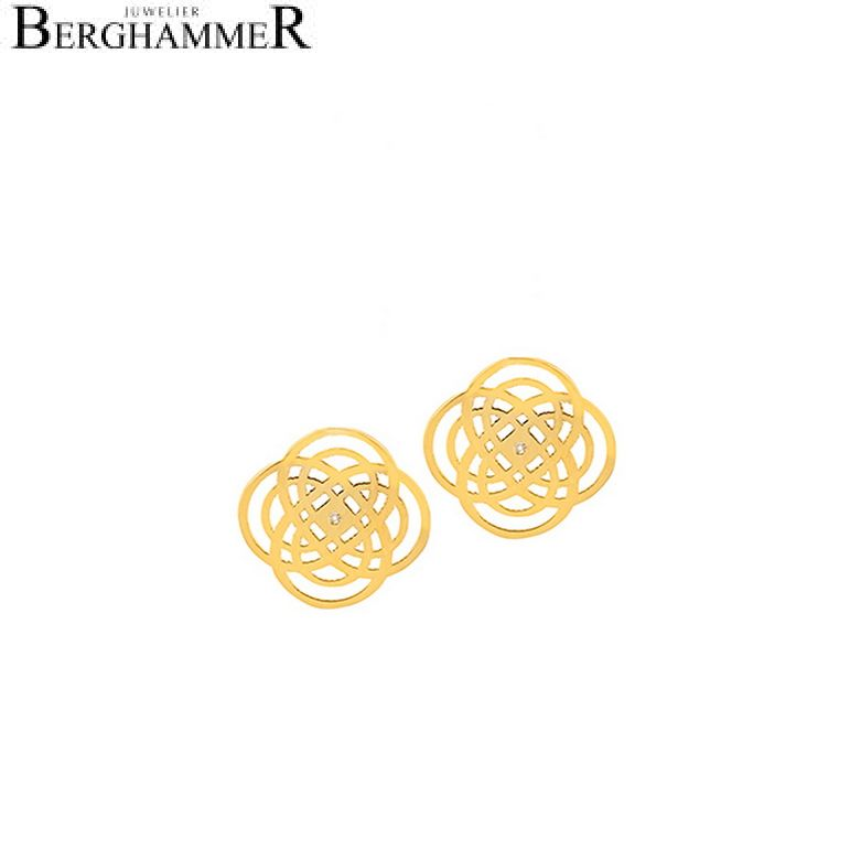 Bellissima Ohrring 18kt Gelbgold 20200470