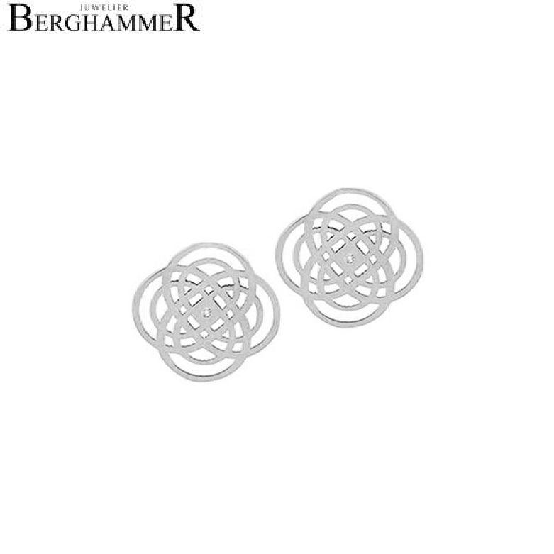 Bellissima Ohrring 18kt Weißgold 20200488