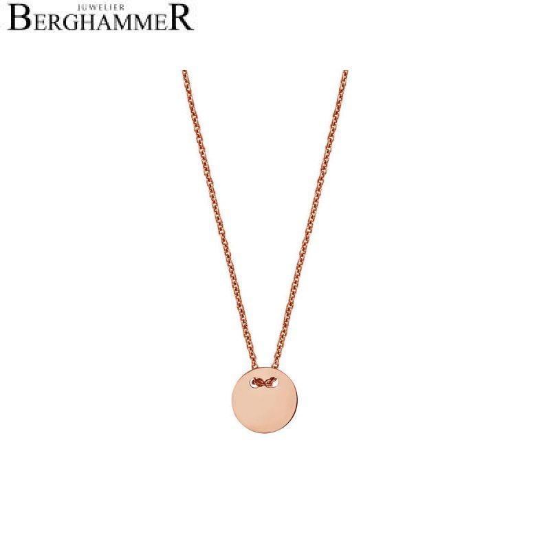 Filo Kette 925 Silber roségold vergoldet 20200741