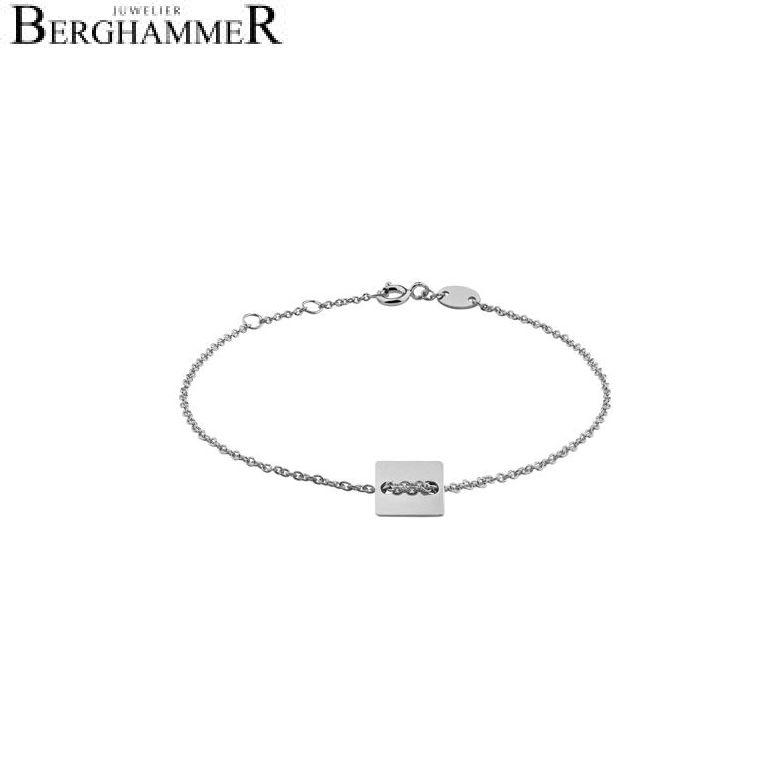 Filo Armband 925 Silber rhodiniert 20200745
