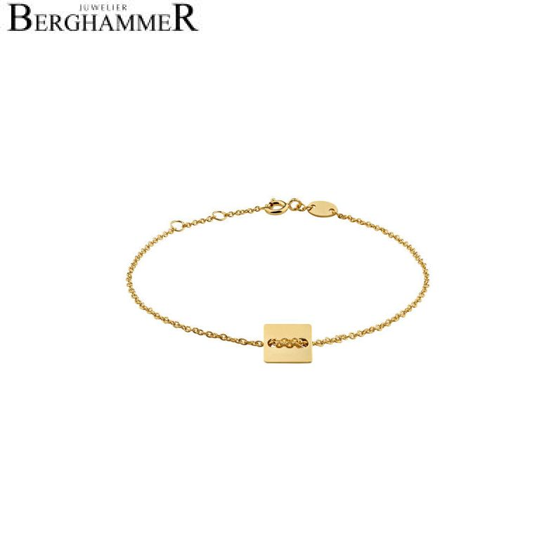 Filo Armband 925 Silber gelbgold vergoldet 20200746