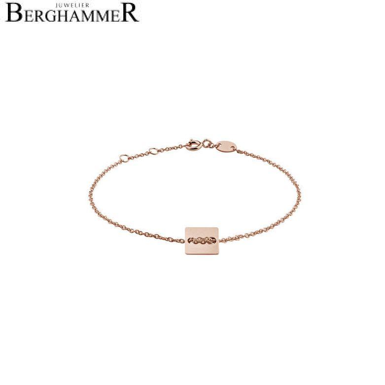 Filo Armband 925 Silber roségold vergoldet 20200747