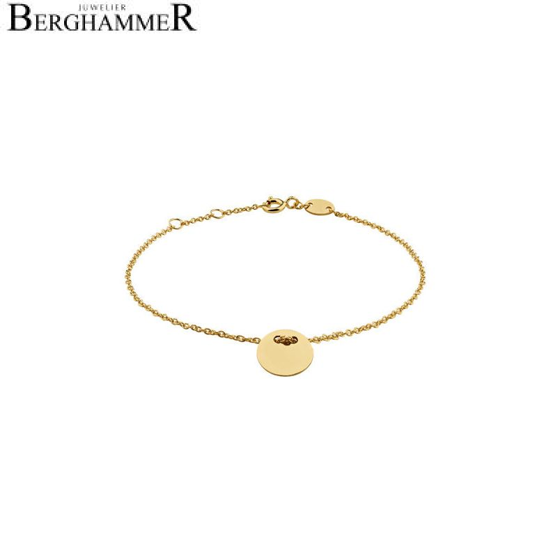 Filo Armband 925 Silber gelbgold vergoldet 20200773