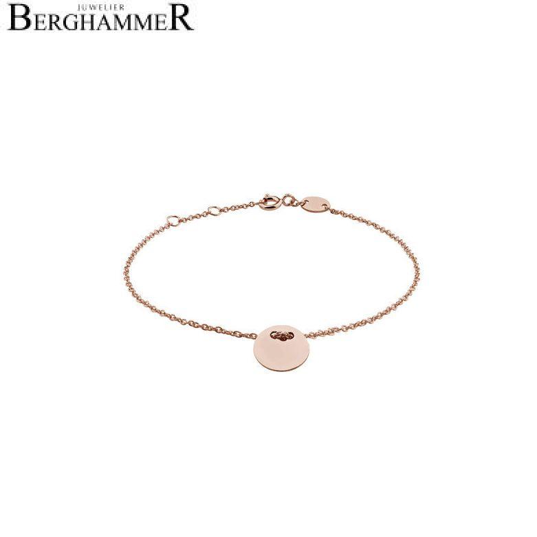 Filo Armband 925 Silber roségold vergoldet 20200774