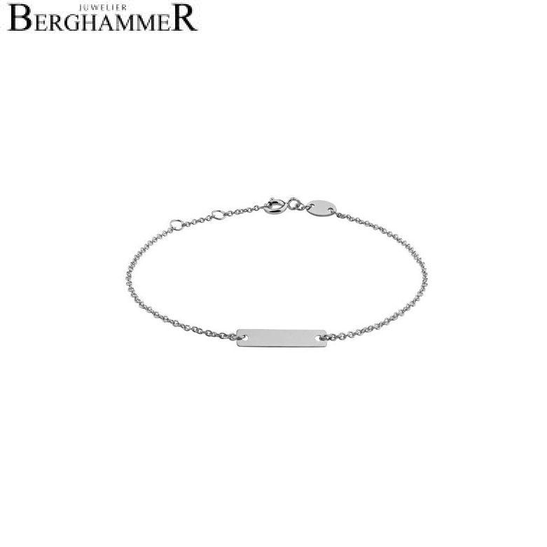 Filo Armband 925 Silber rhodiniert 20200775