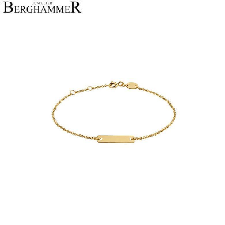 Filo Armband 925 Silber gelbgold vergoldet 20200776