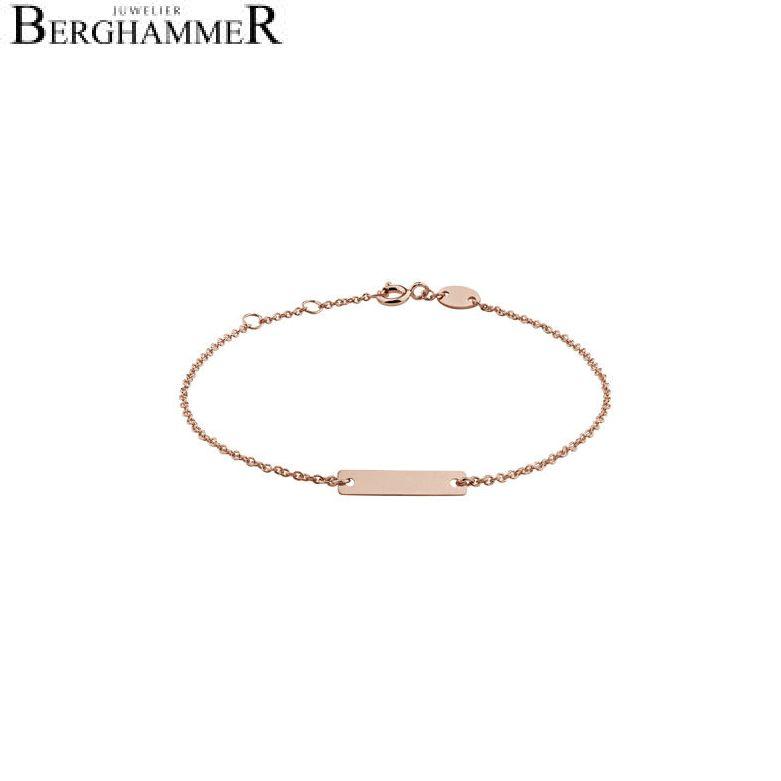 Filo Armband 925 Silber roségold vergoldet 20200777