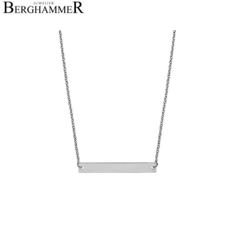 Filo Kette 925 Silber rhodiniert 20200781