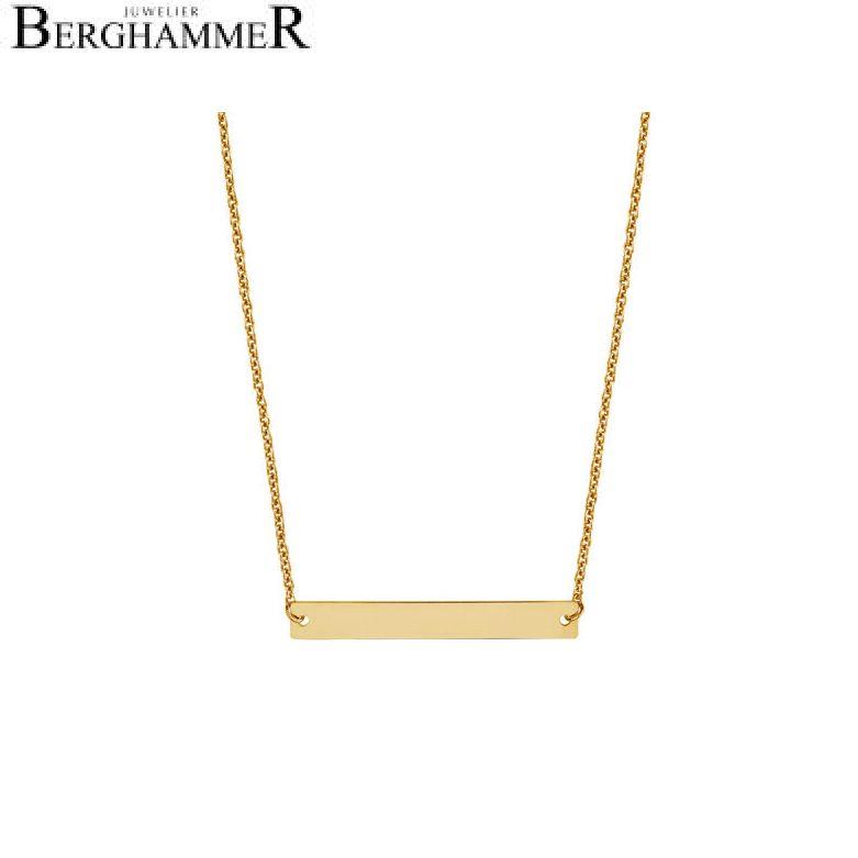 Filo Kette 925 Silber gelbgold vergoldet 20200782
