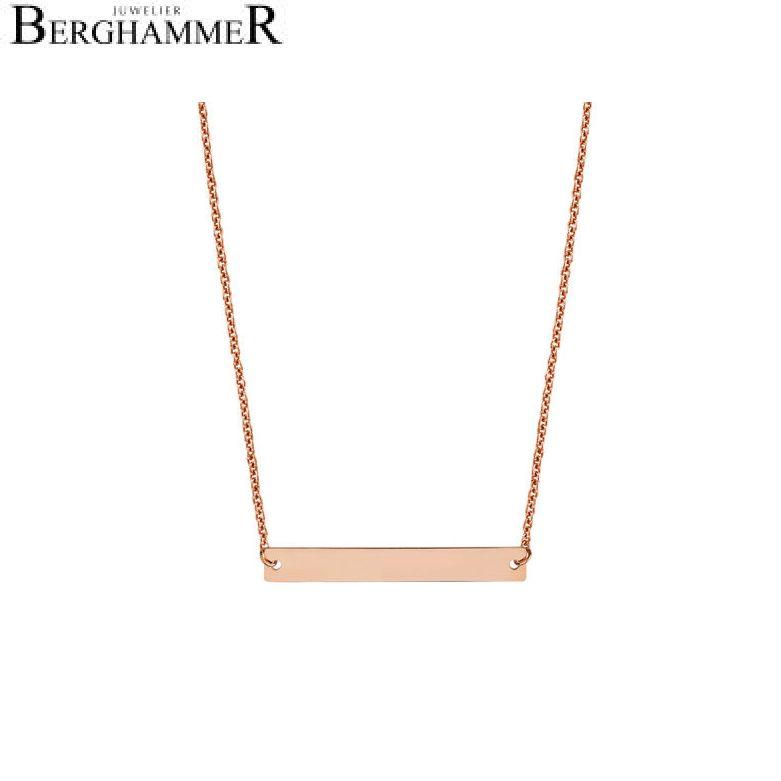 Filo Kette 925 Silber roségold vergoldet 20200783