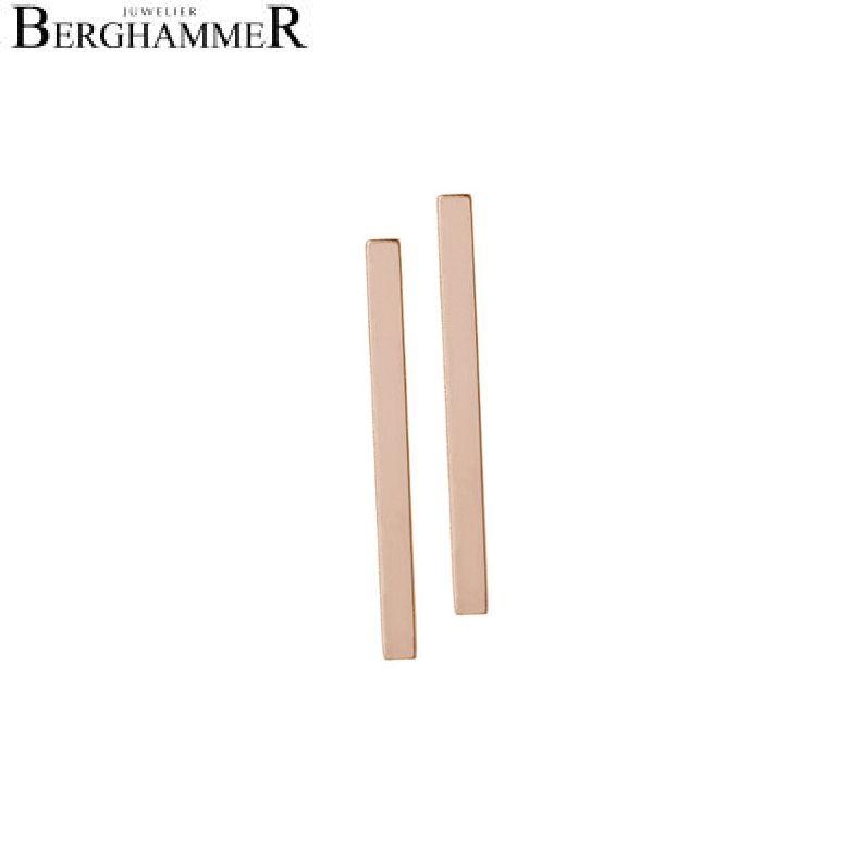 Bellissima Ohrstecker 18kt Roségold 20200890