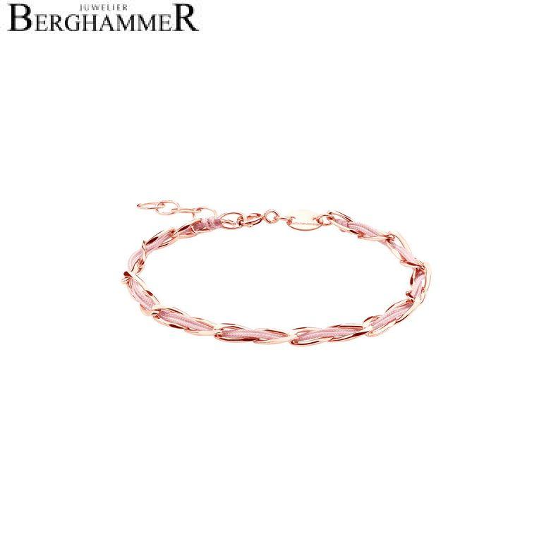 Unico Armband Fuchsia 925 Silber roségold vergoldet 20200925