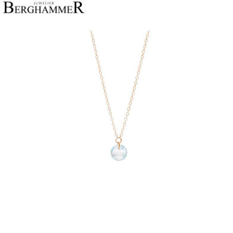 Bellissima Halskette 18kt Roségold 20201000