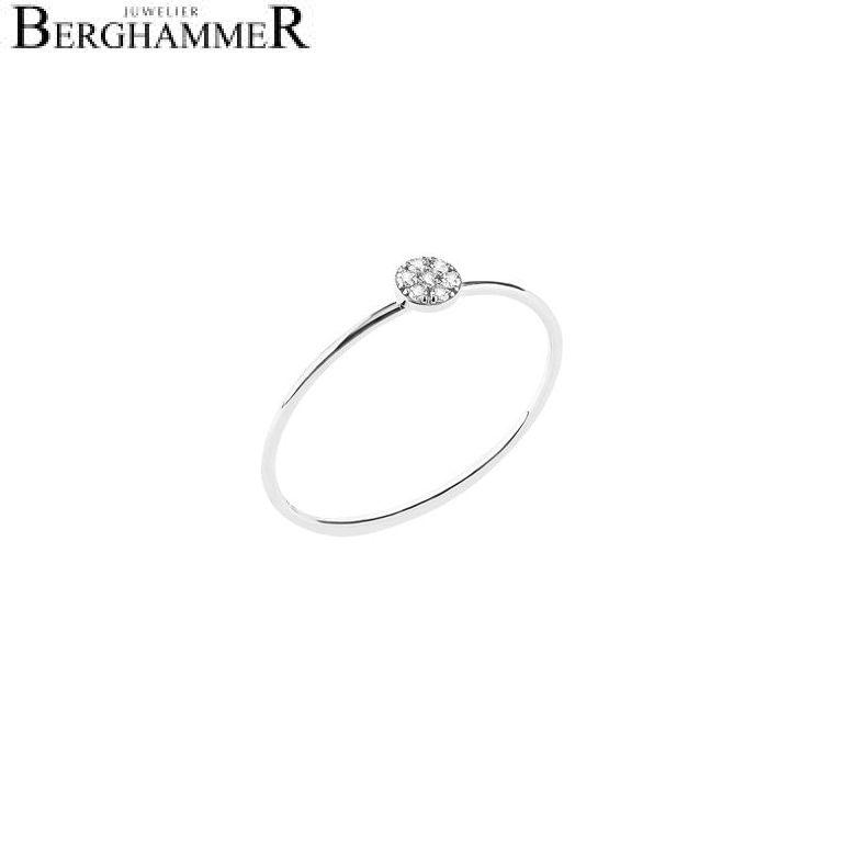 Bellissima Ring 18kt Weißgold 21000055